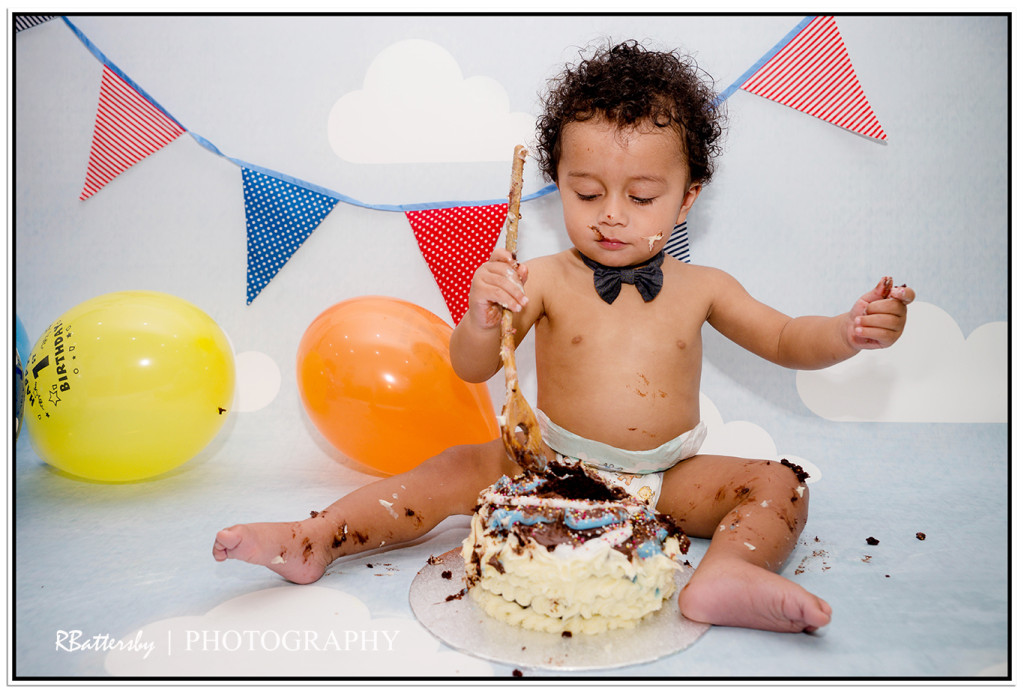 Nyko's Cake Smash (35)
